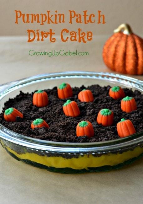 Pumpkin Dirt Cake