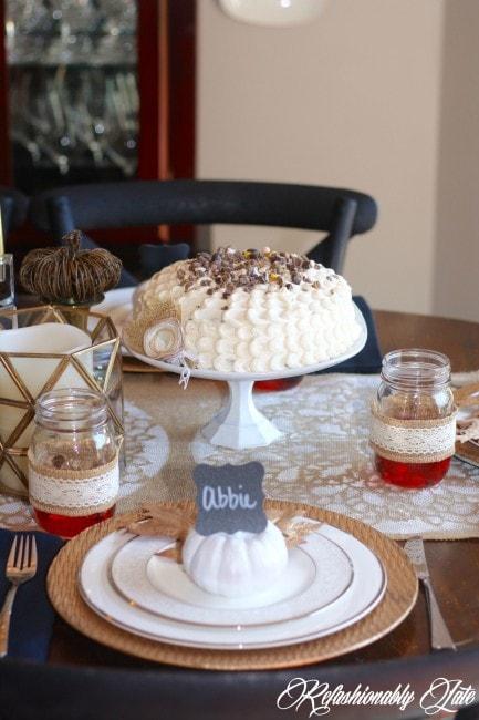Dollar Store Cake Stand - www.refashionablylate.com