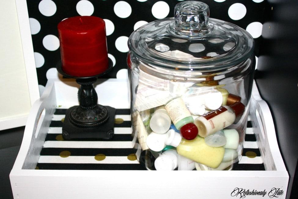 Tray Makeover - www.refashionablylate.com