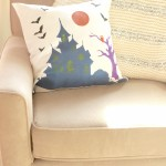 Paint Your Own Halloween Pillow