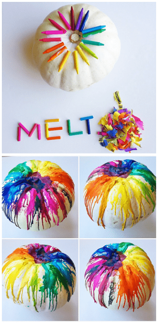 melted-crayon-pumpkin-craft