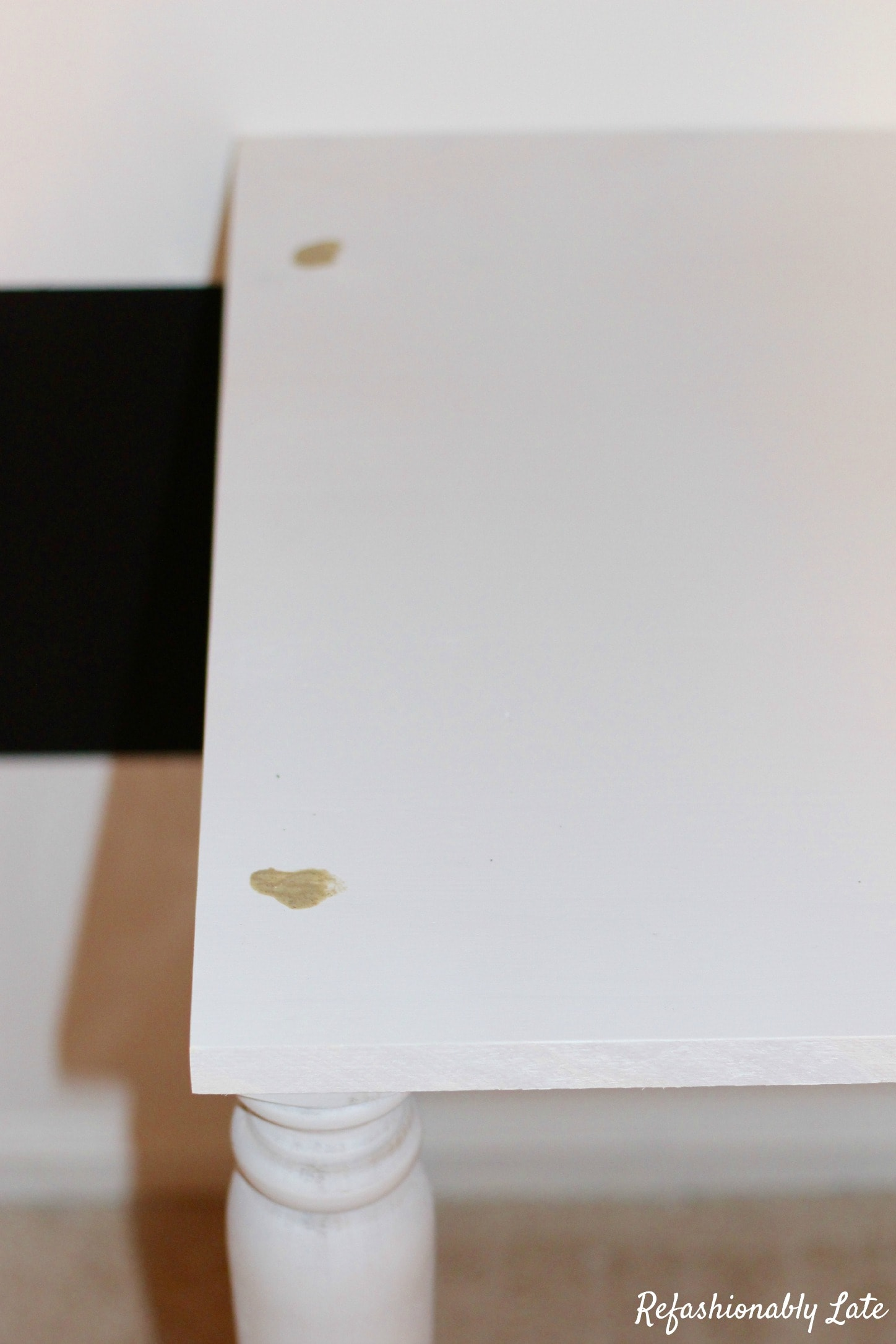 DIY File Cabinet Desk - www.refashionablylate.com