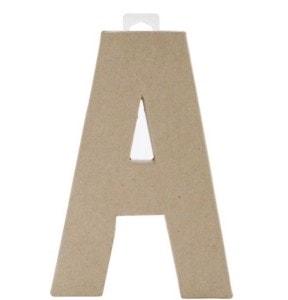 DIY Faux Steel Letters - www.refashionablylate.com
