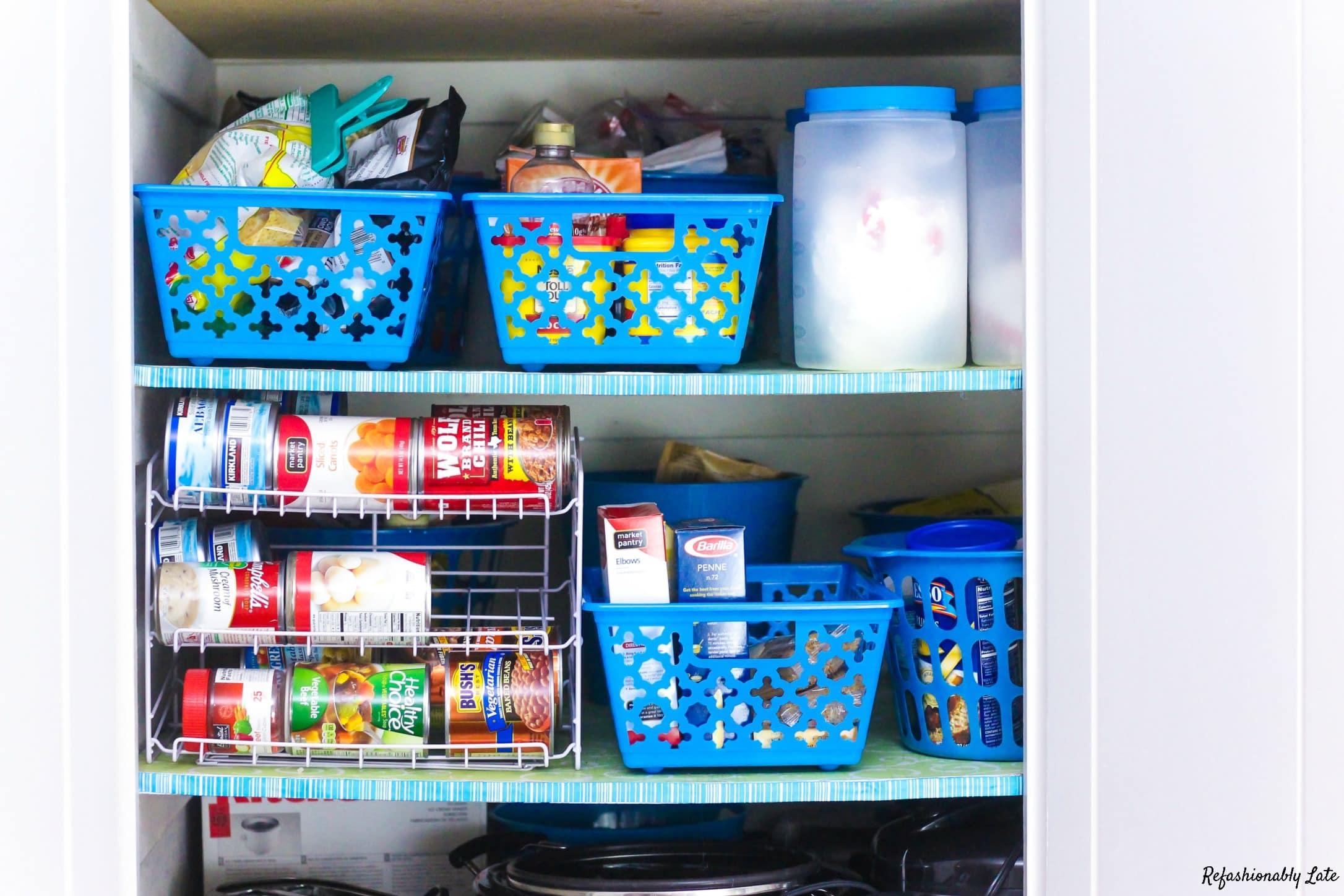 Pantry Organization - www.refashionablylate.com