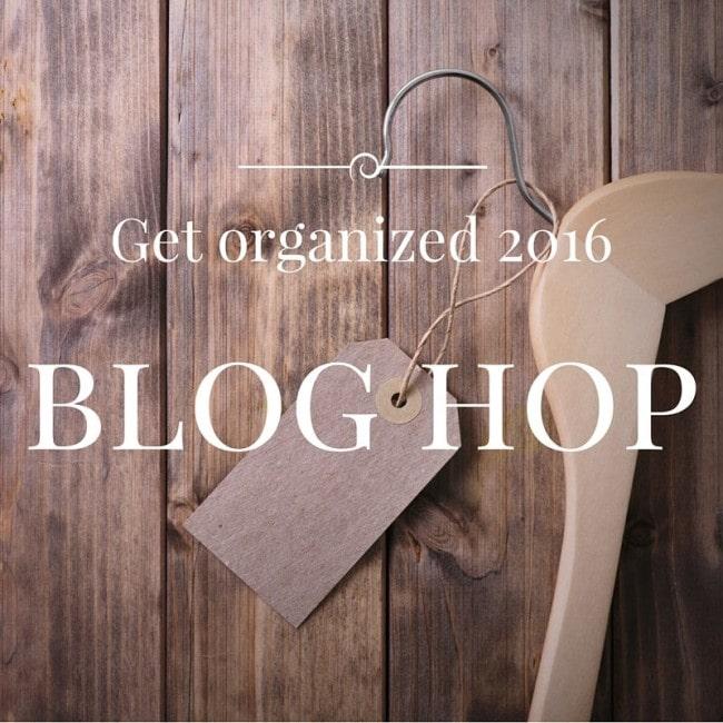 Get Organized Blog Hop 2016 - www.refashionablylate.com