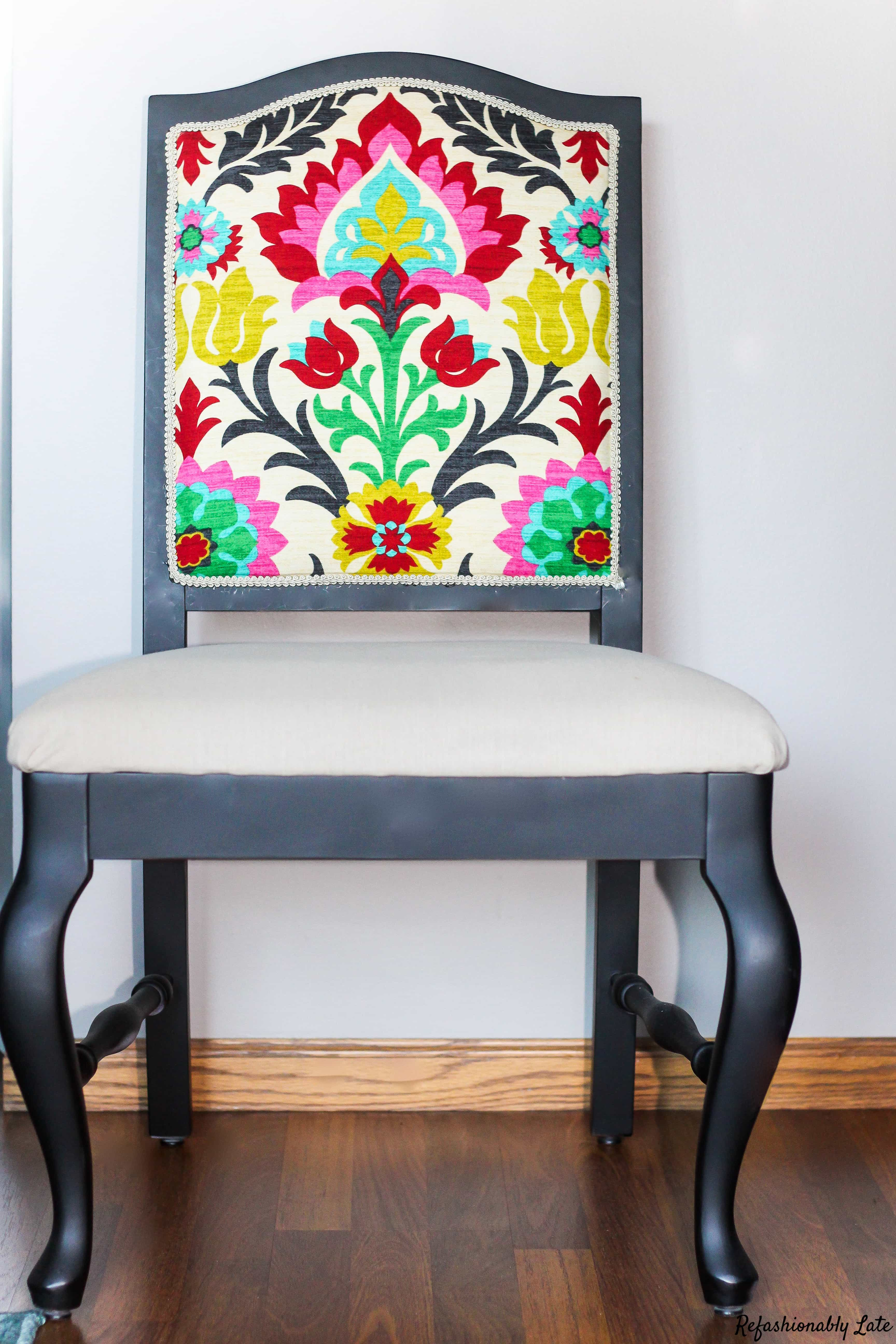 Dining Room Chairs Do Over - www.refashionablylate.com