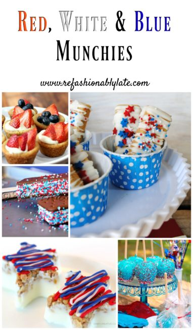 Red, White & Blue Munchies - www.refashionablylate.com