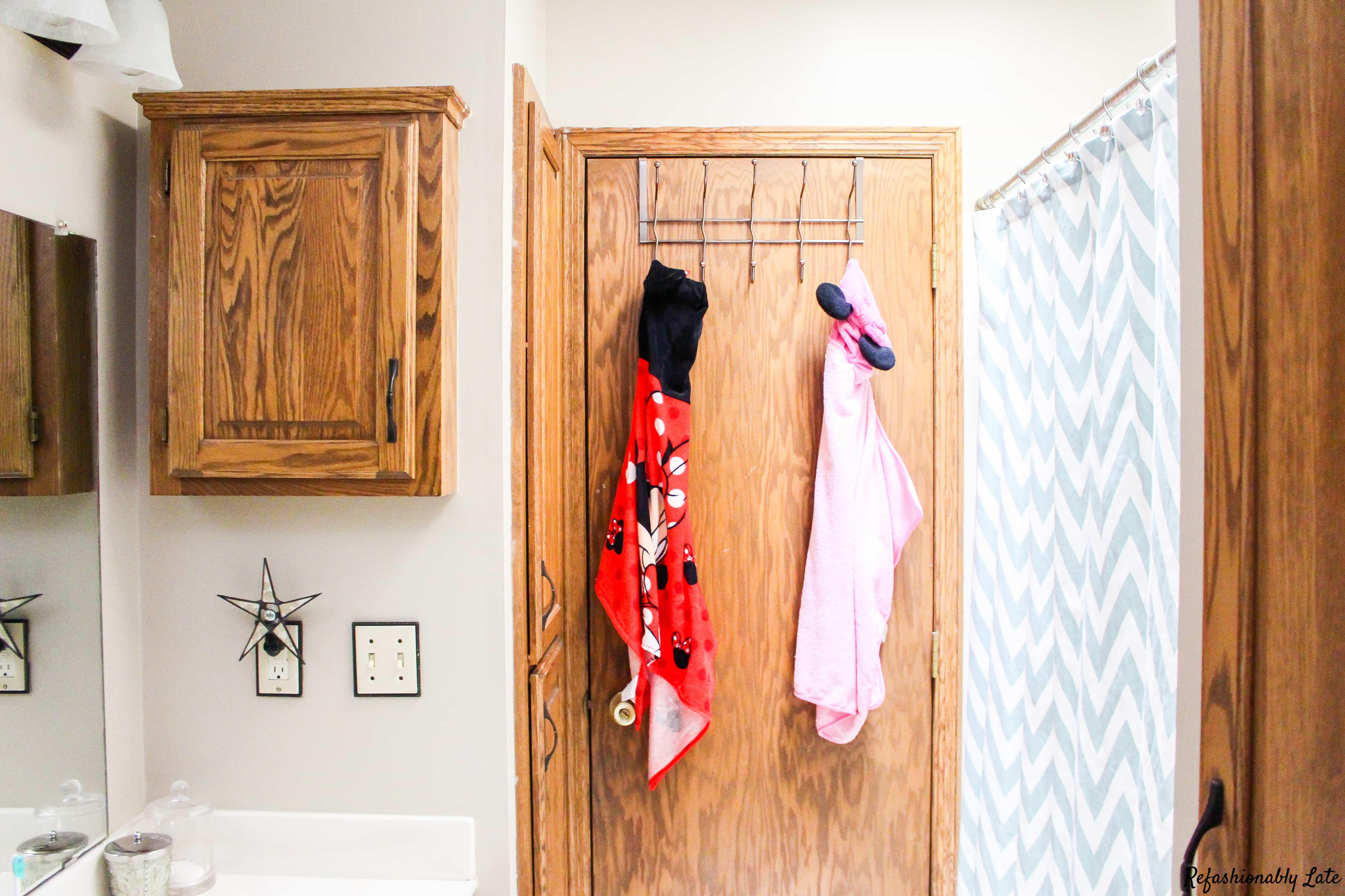 One Room Challenge Bathroom - Week 1 - www.refashionablylate.com