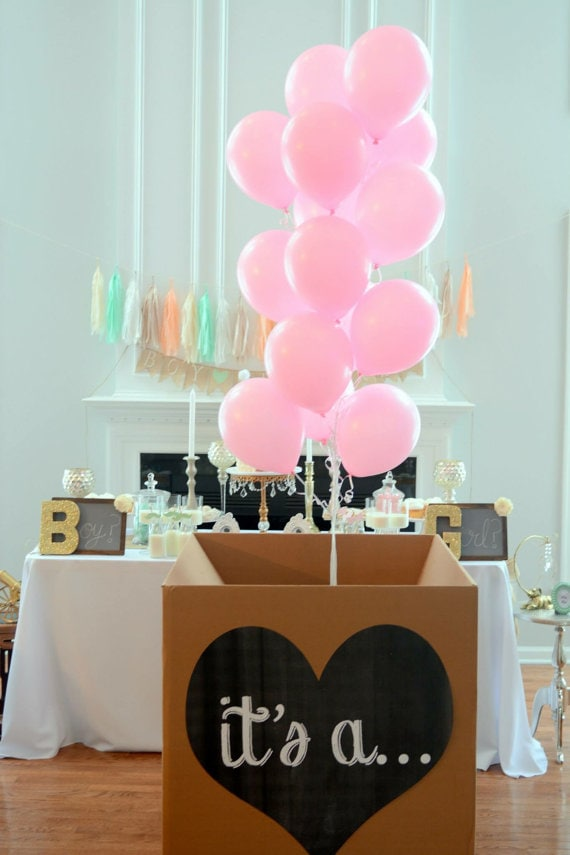 Creative gender reveal ideas refashionably late - Its a boy here are some room ideas for a newborn ...