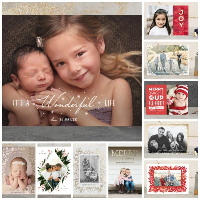 My Top Ten Holiday Card Choices - www.refashionablylate.com