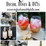 New Year's Eve Decor, Dines and DIYs