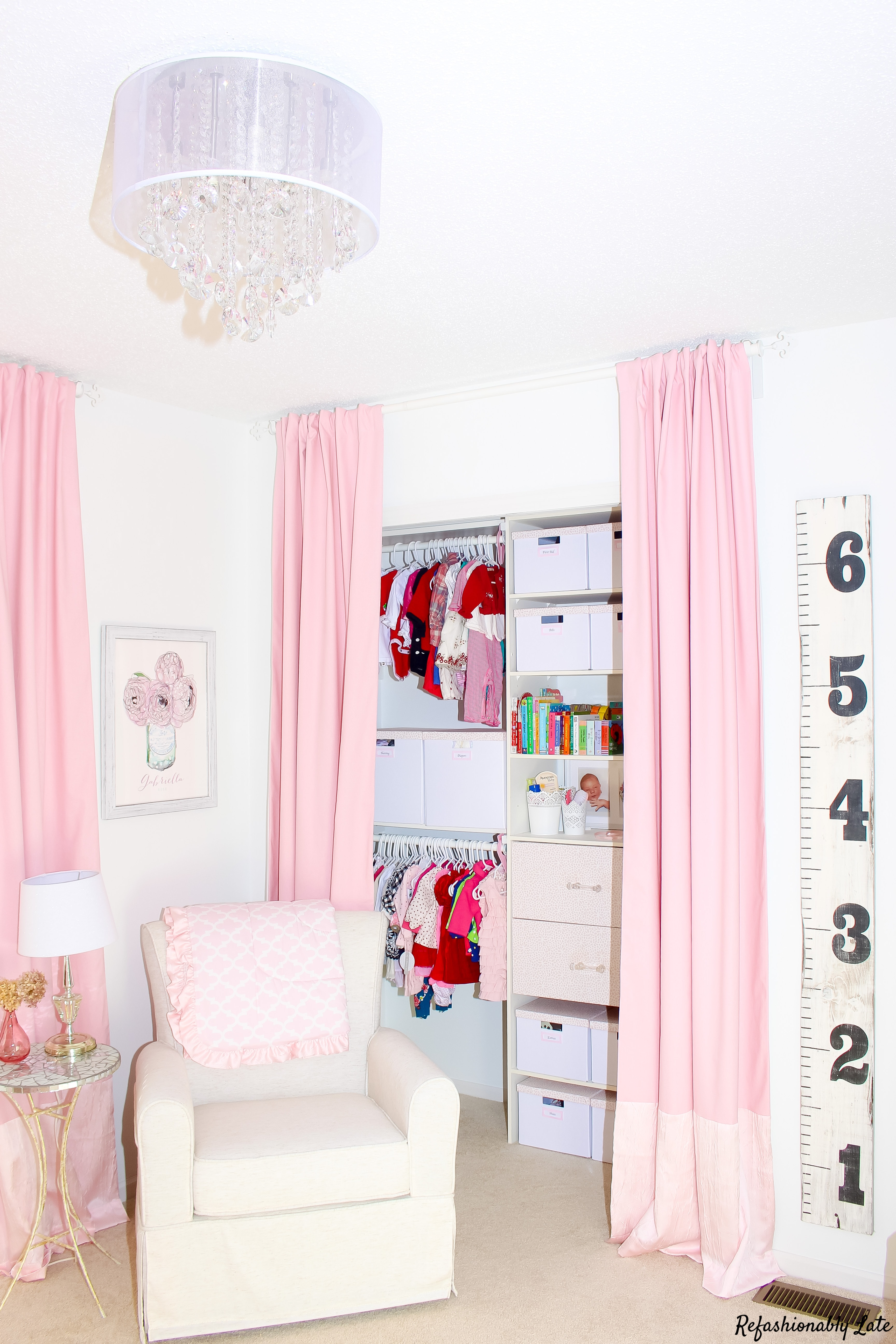 One Room Challenge Nursery Final Reveal - www.refashionablylate.com