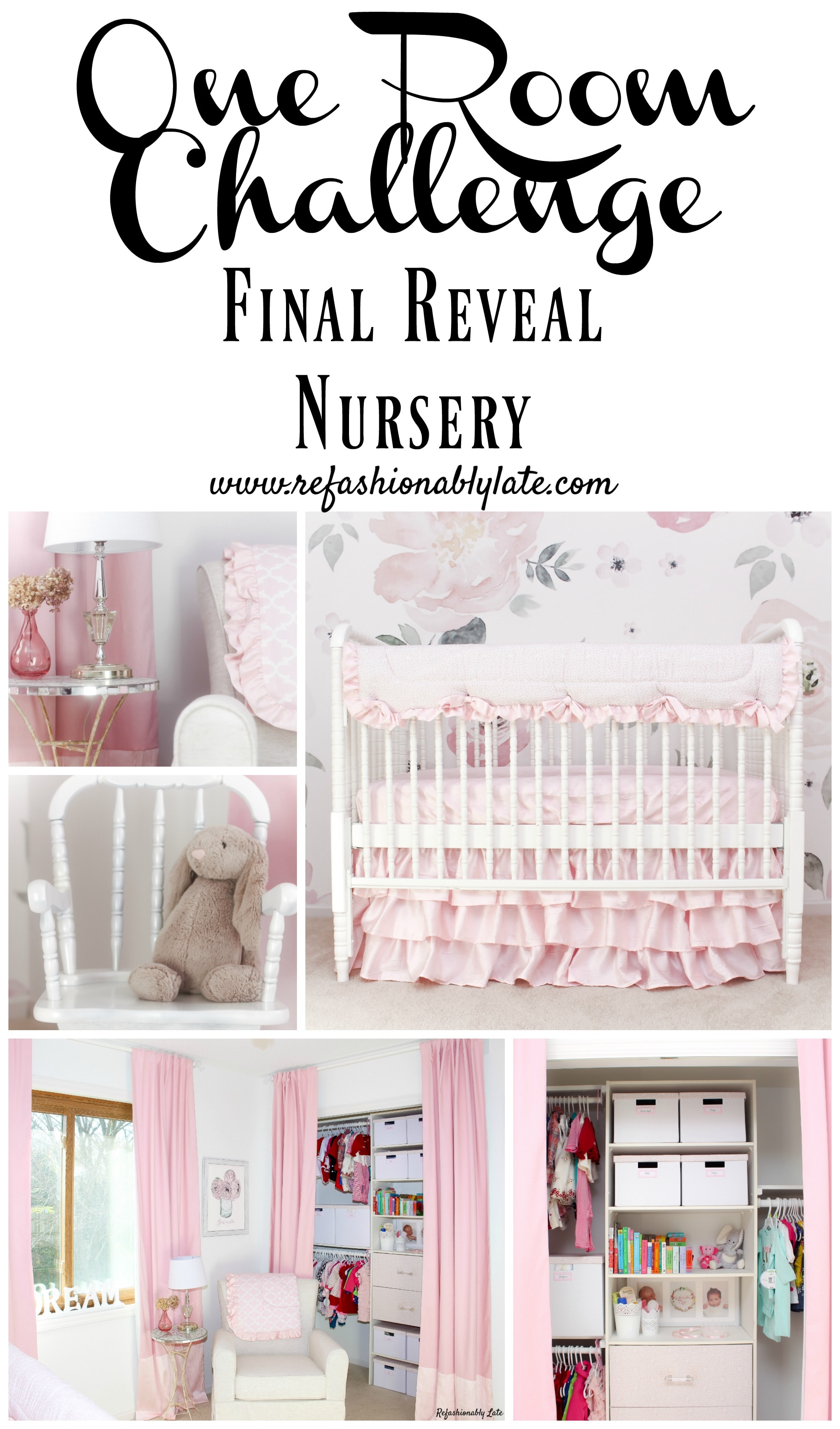 One Room Challenge Final Reveal Nursery Refashionably Late