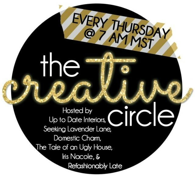 The Creative Circle - www.refashionablylate.com