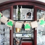 St. Patrick's Day Quick DIY Banner