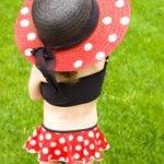 Minnie Mouse Sun Hat – My Dollar Store DIY