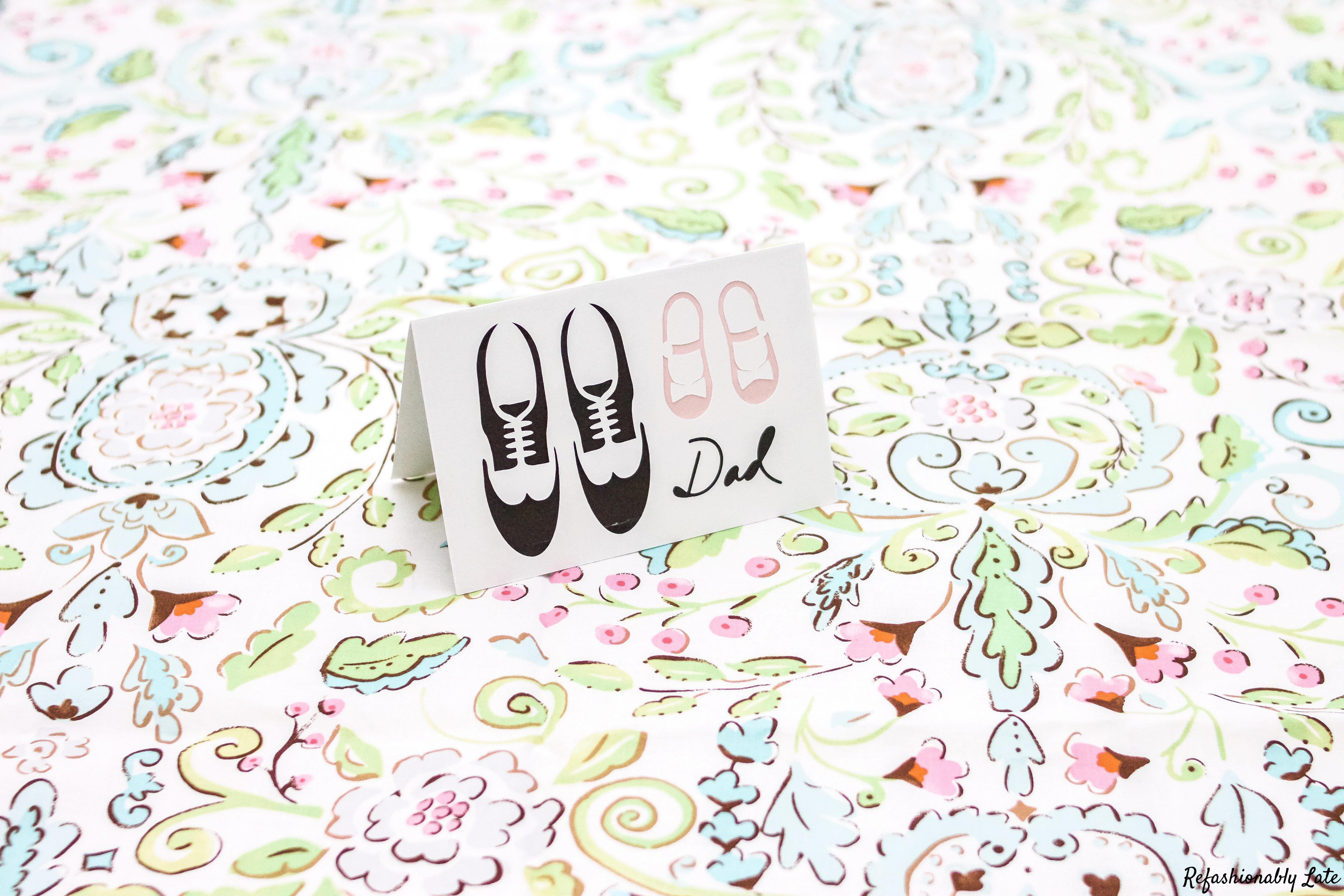 DIY Father's Day Card - www.refashionablylate.com