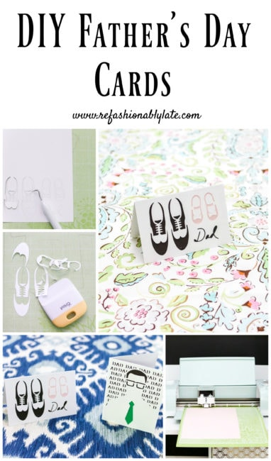 DIY Father's Day Card - www.refashionablylate.com