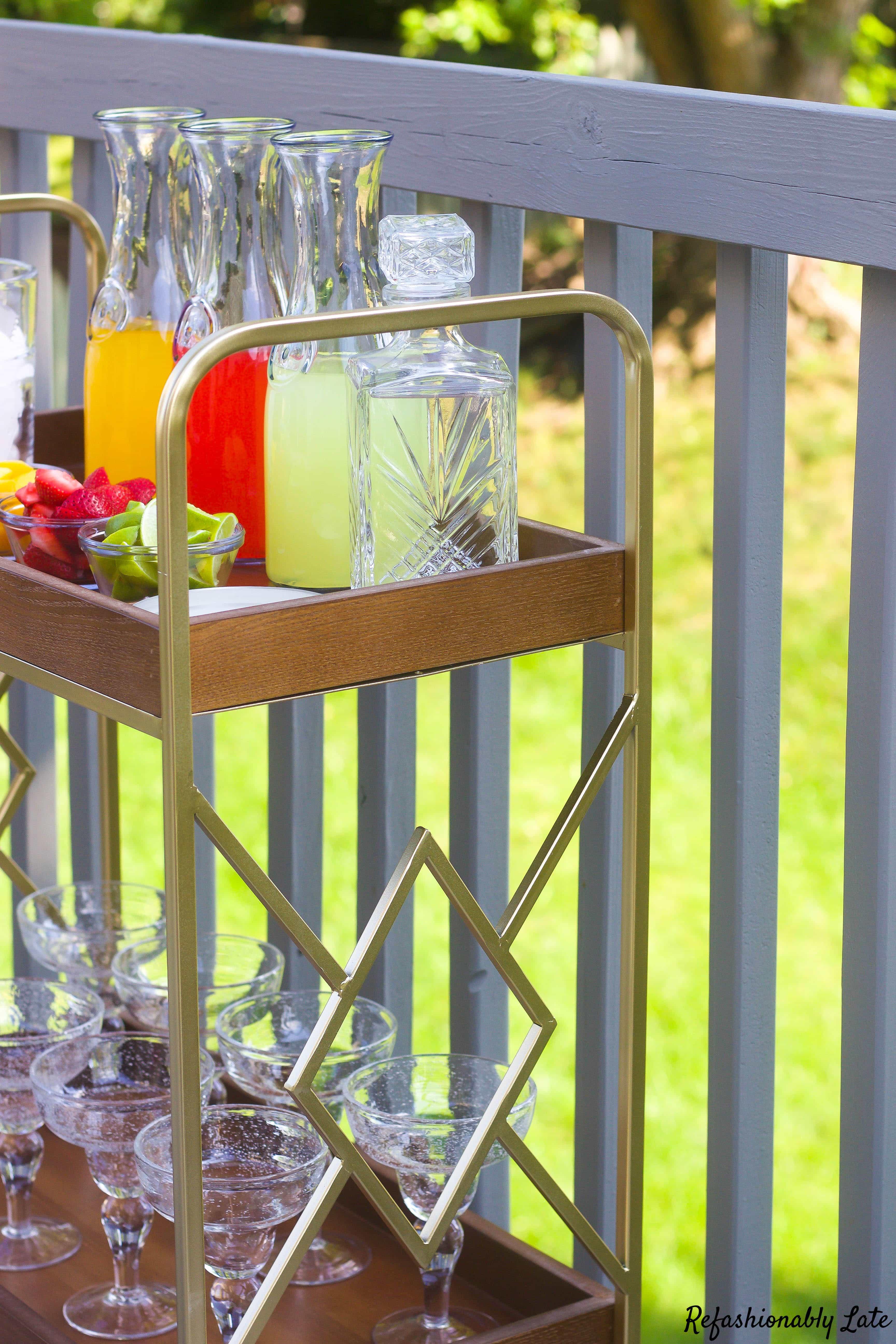 Margarita Birthday Bar with Wayfair - www.refashionablylate.com