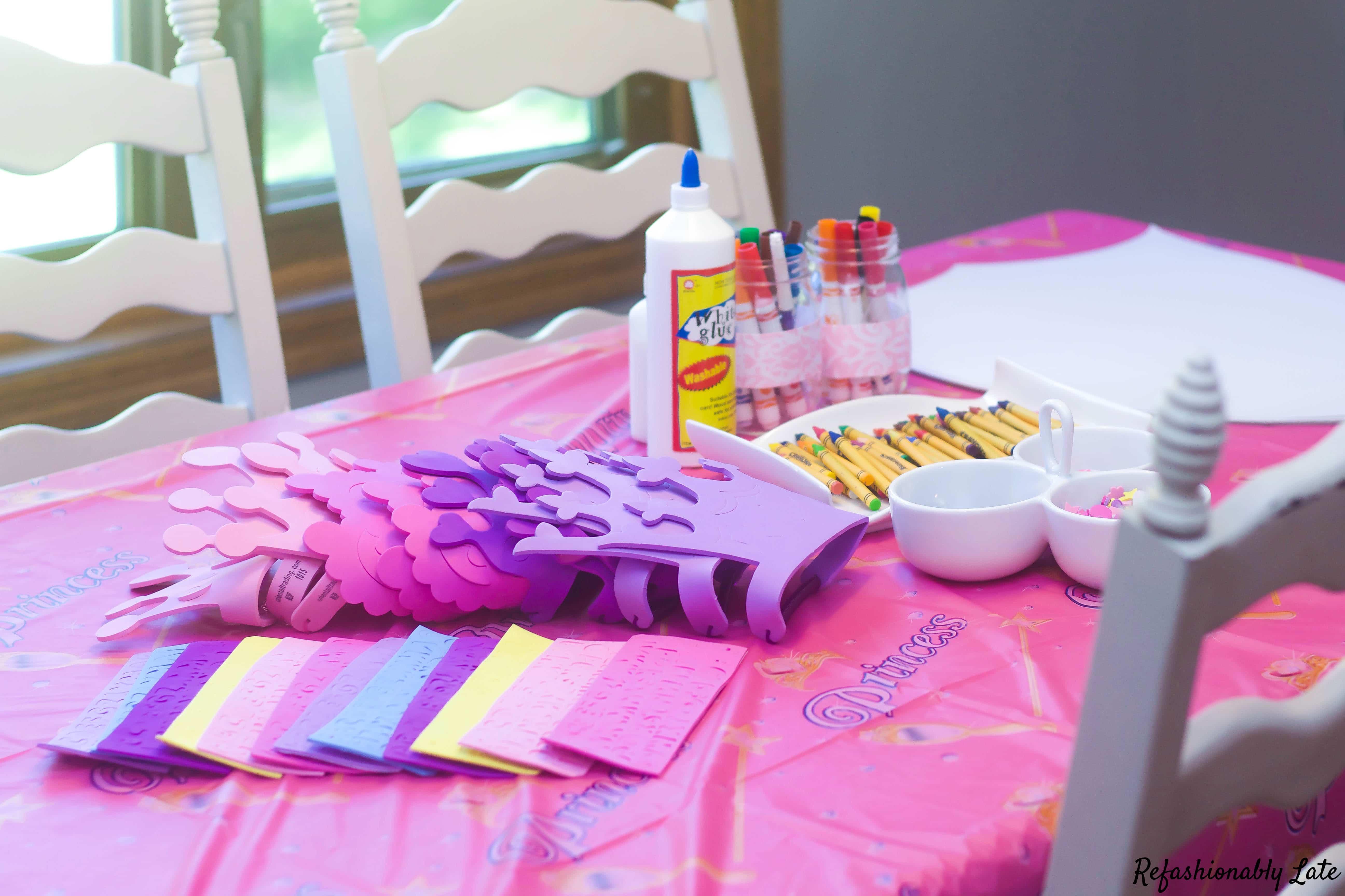 Lucy's Birthday Party Fit for a Princess - www.refashionablylate.com