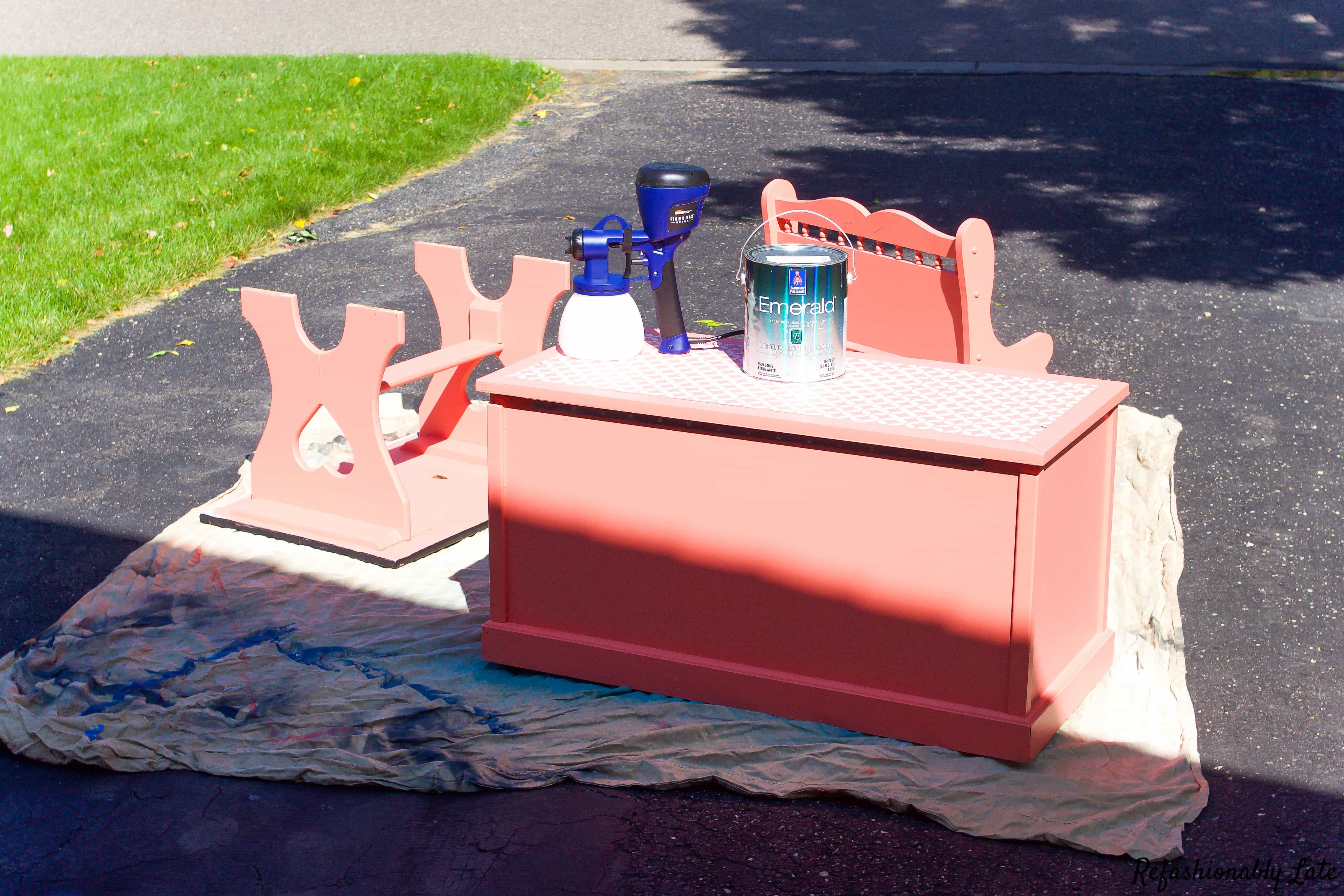 Children's Art Table Makeover - www.refashionablylate.com