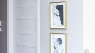 Bedroom & Bathroom Door Makeover