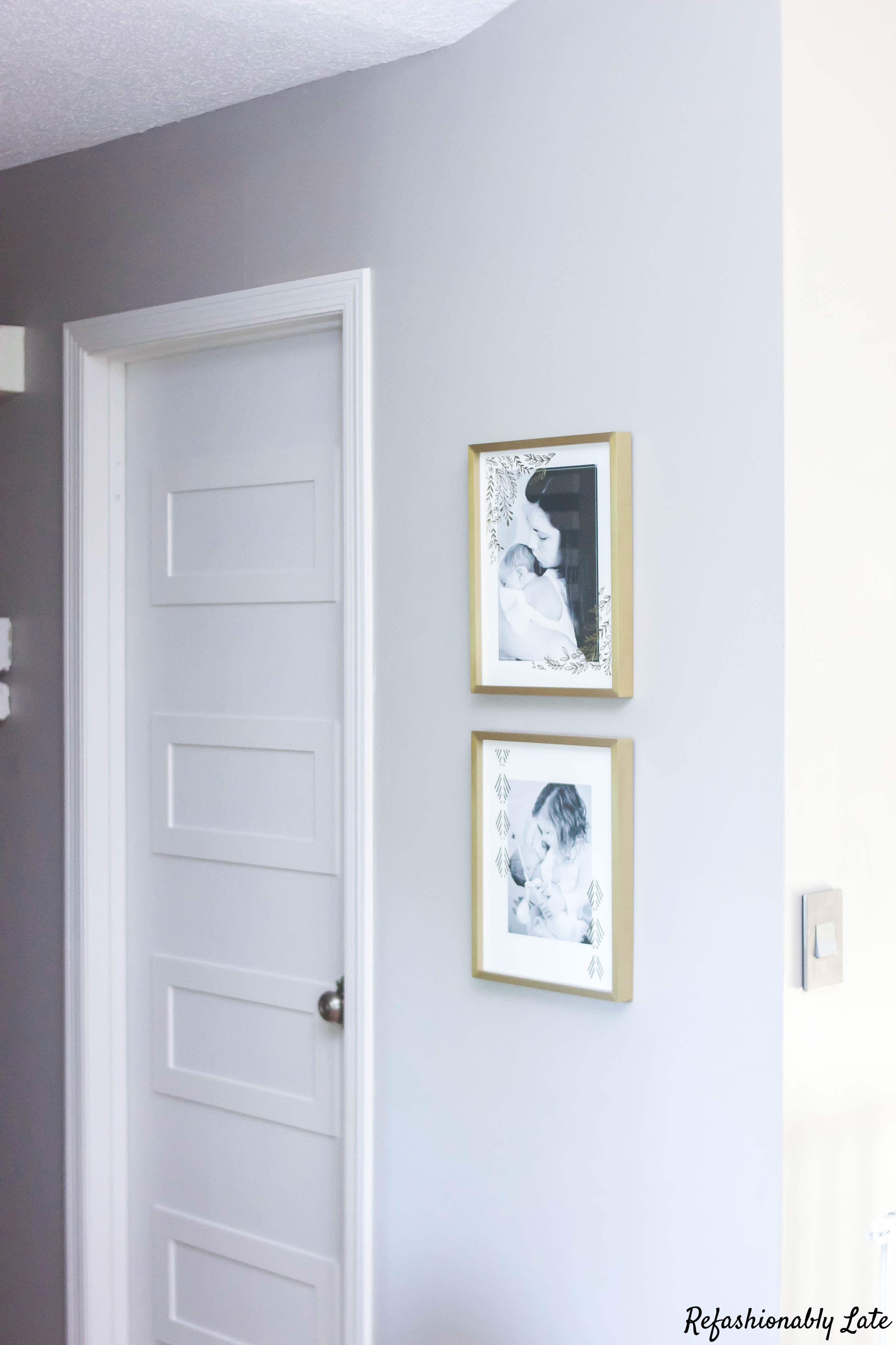Hollow Core Door Makeover - www.refashionablylate.com