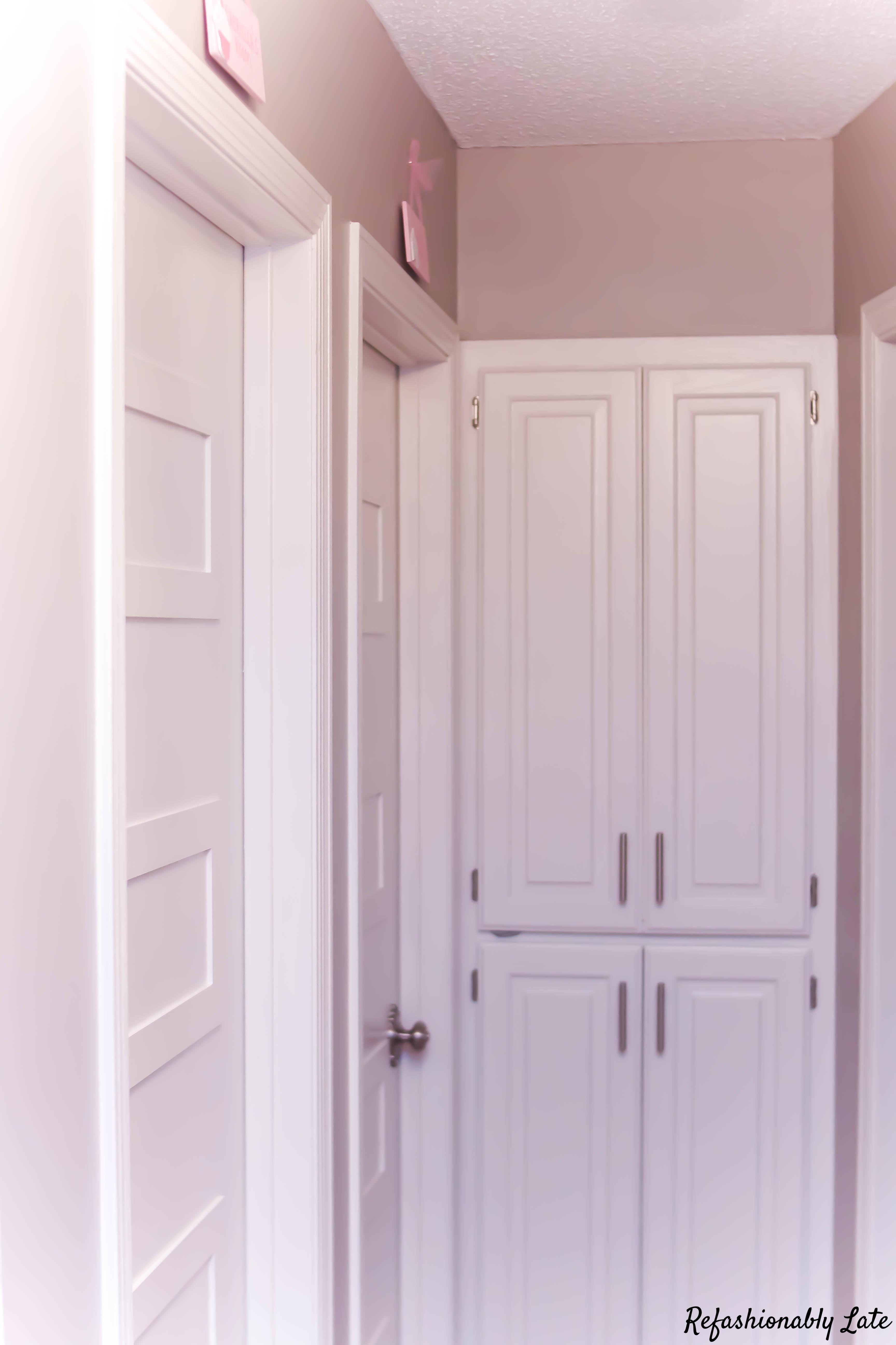 Hollow Core Door Makeover - www.refashionablylate.com