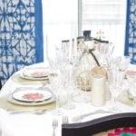 A Cricut Christmas Table