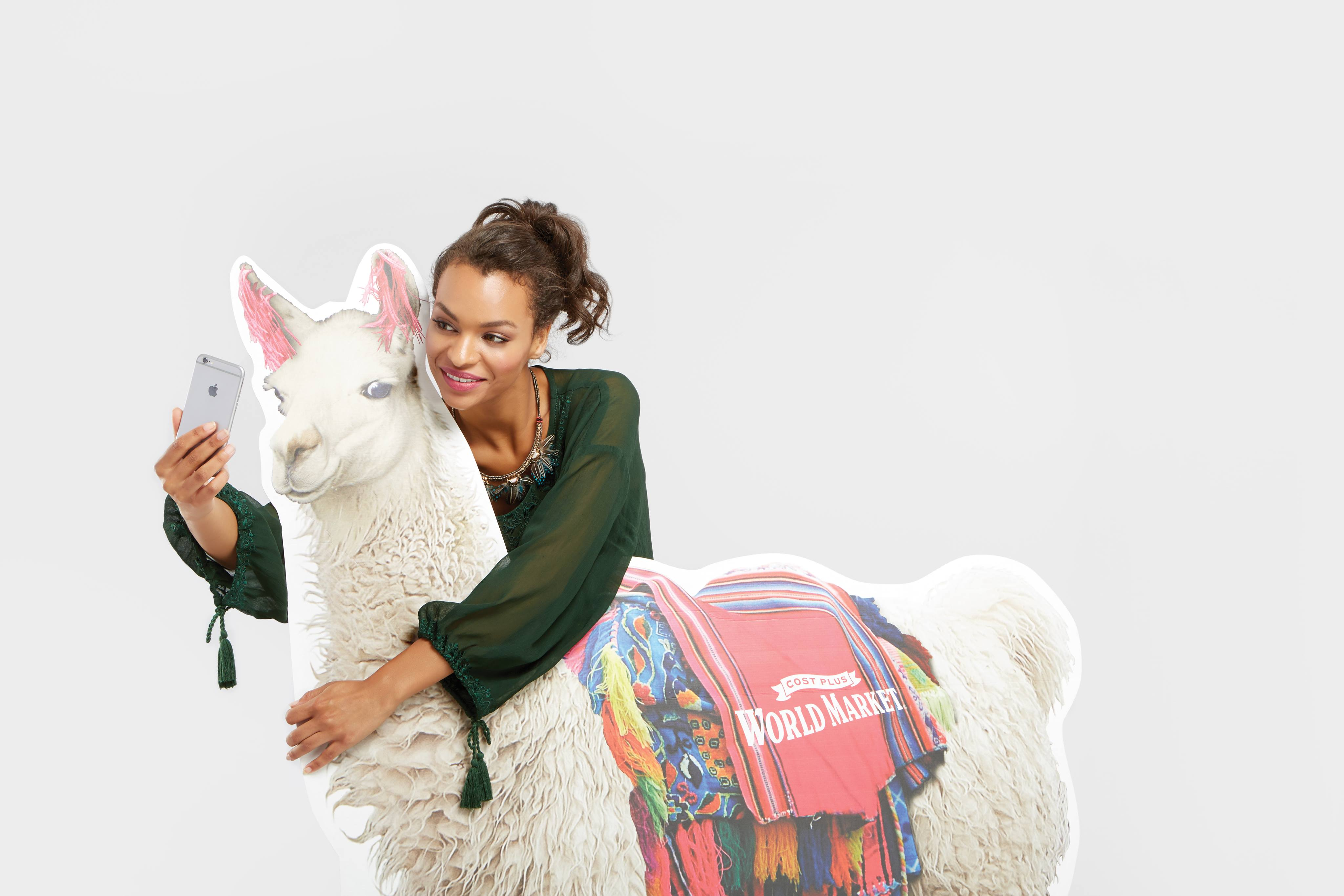 Hot Cocoa and National Llama Day - www.refashionablylate.com