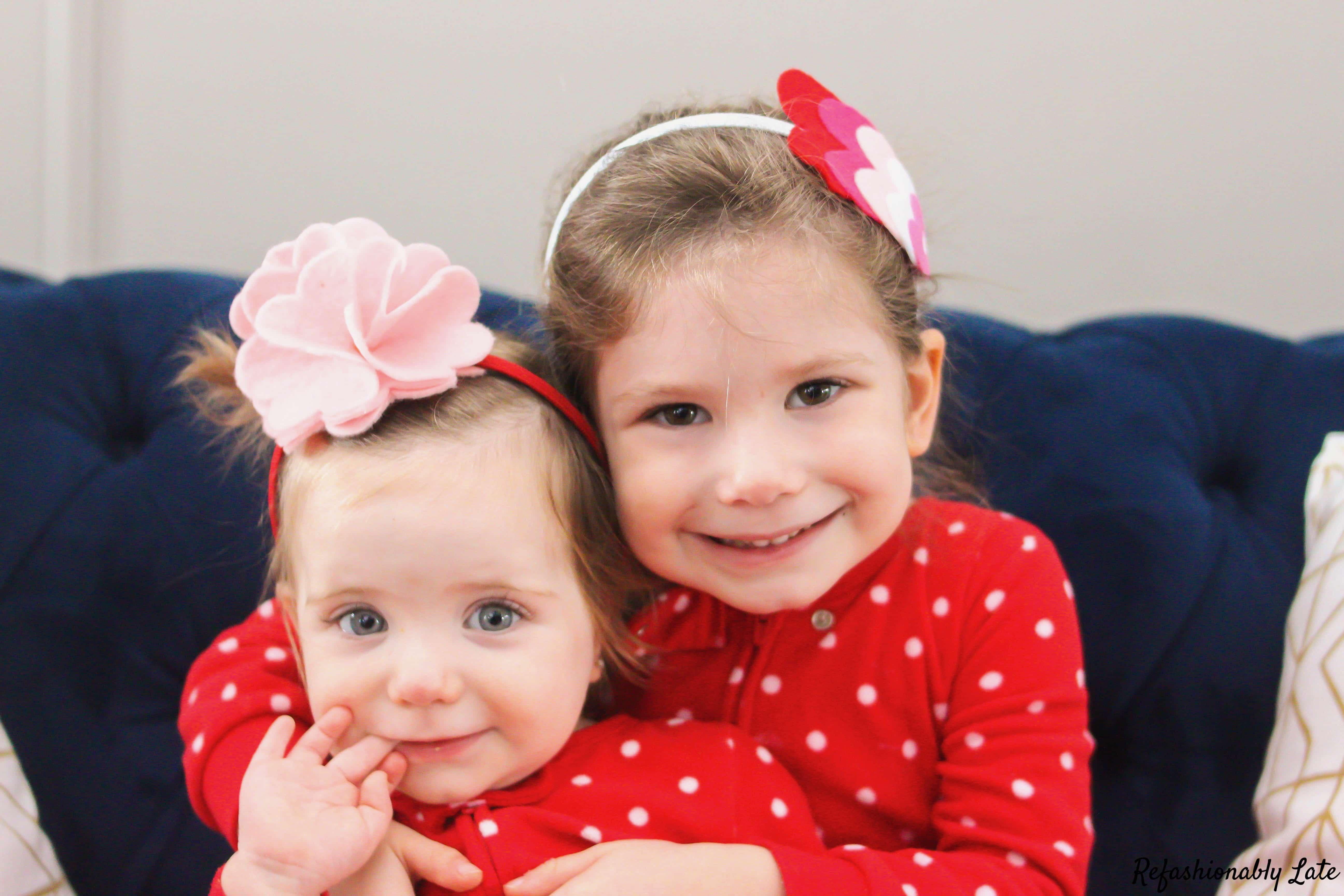 Valentine's Day Felt Headbands - www.refashionablylate.com