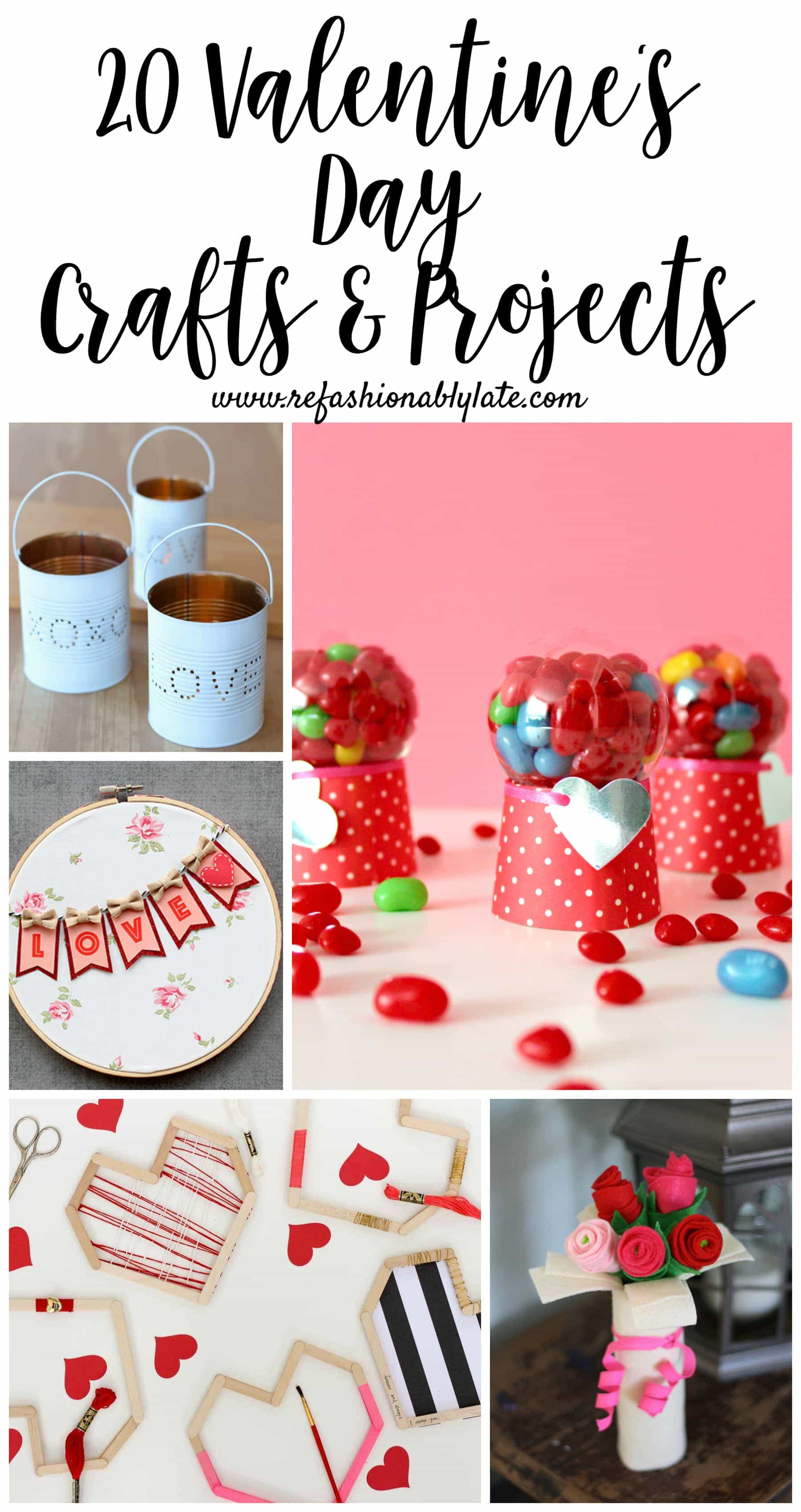 20 Valentine S Day Crafts Projects Refashionably Late