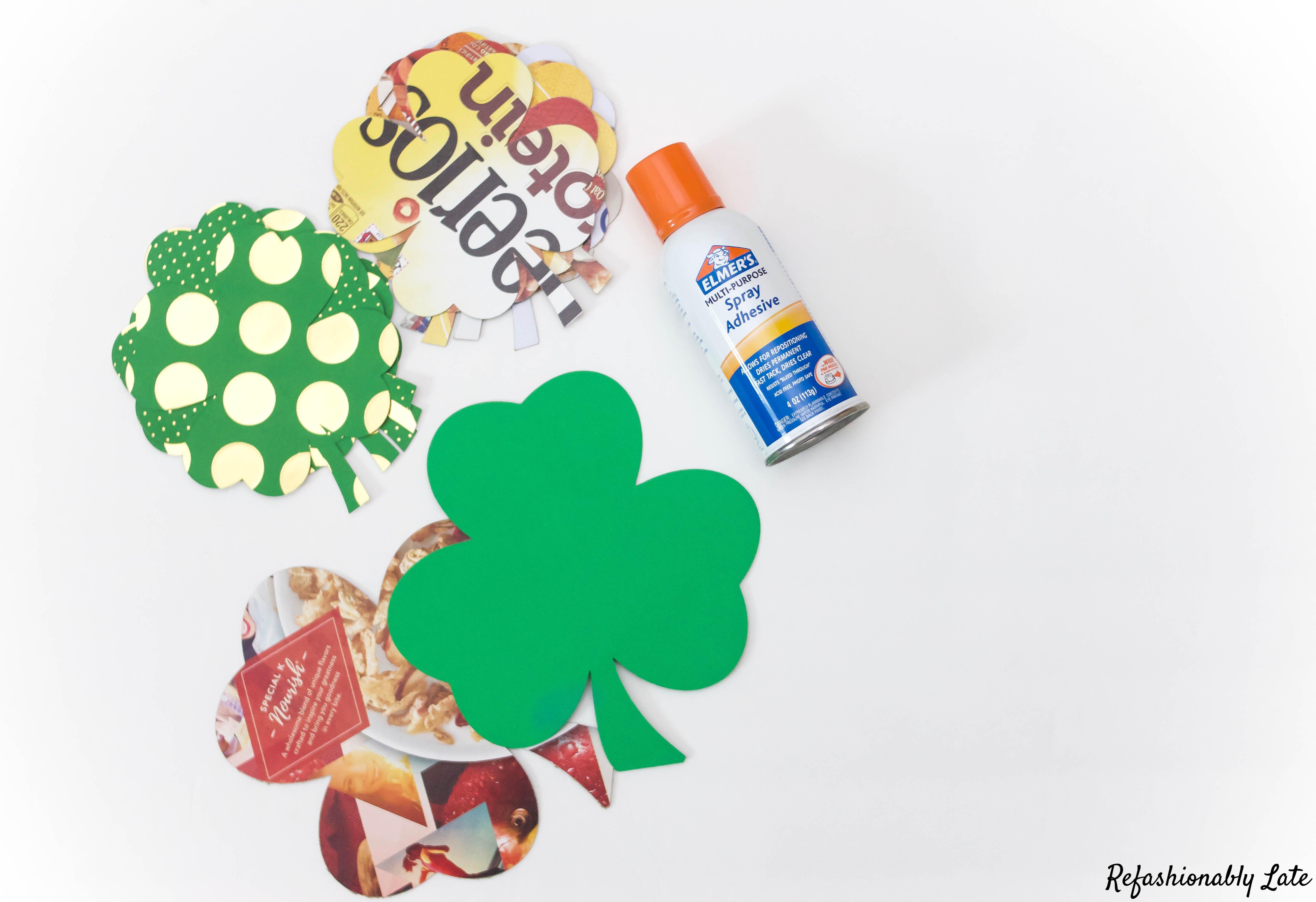 DIY St. Patrick's Day Banner - www.refashionablylate.com