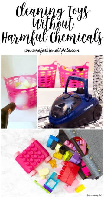 Cleaning Toys the Safe Way - www.refashionablylate.com