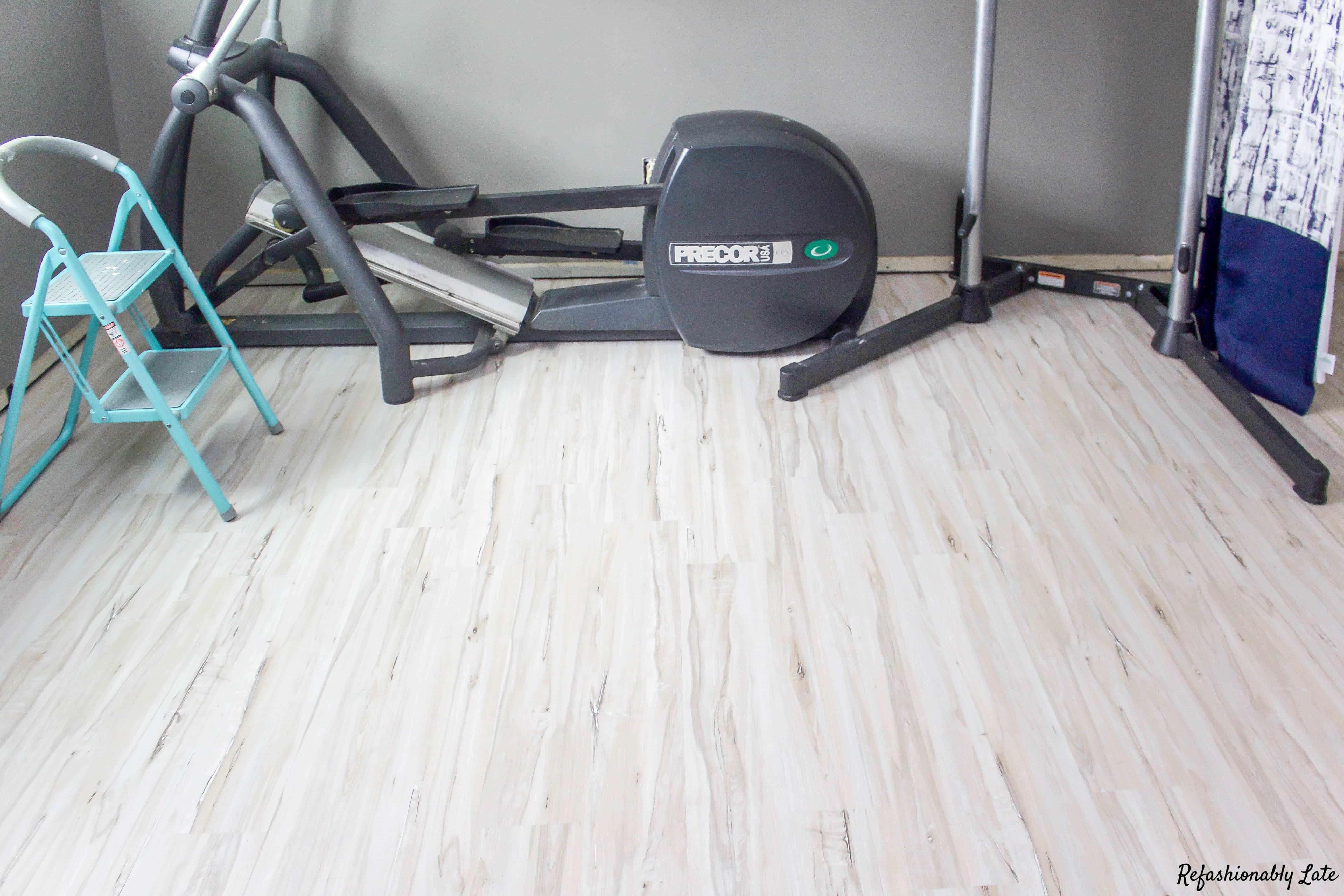 One Room Challenge Gym/Guest Room Week 3 - www.refashionablylate.com