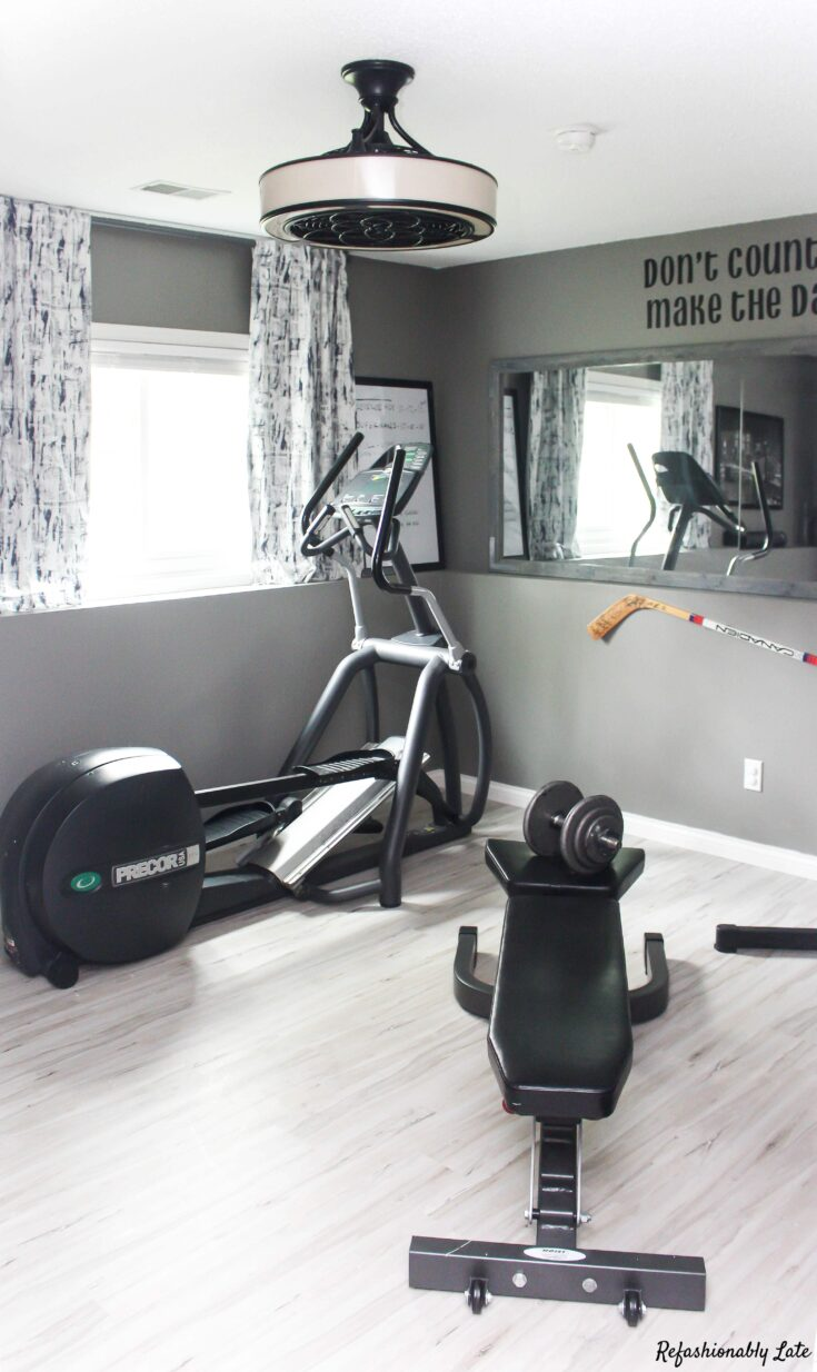 ORC Final Reveal - Gym/Guest Room