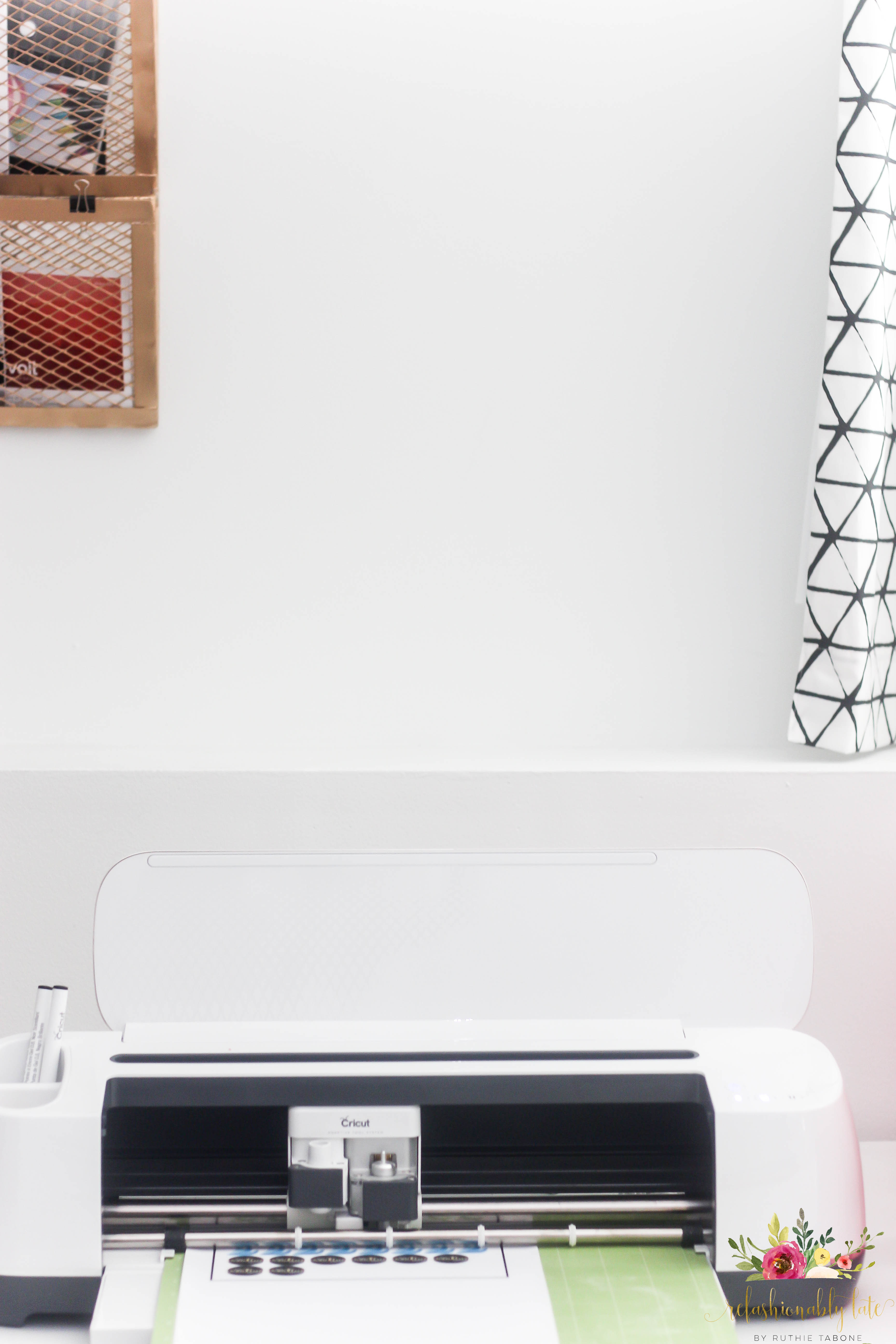Creating Stickers with your Cricut Maker • REFASHIONABLY LATE