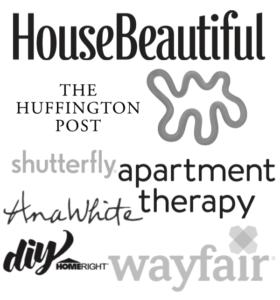 featured on house beautiful the huffington post apartment therapy shutterfly ana white wayfair homeright