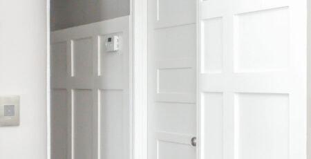 hallway board and batten reveal