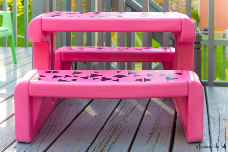 Little Tikes Picnic Table Makeover 4 Years Later